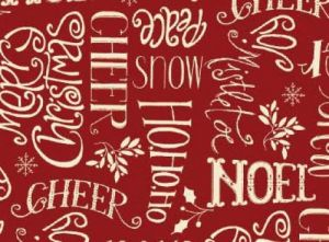 Christmas Whimsy - 25206-red1