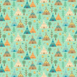 Teepee Time - Flannel - 31352-62