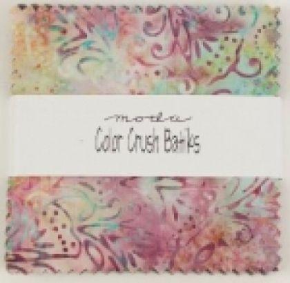 Color Crush Batiks by Moda