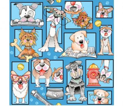 Dog Gone Fun - 9691-70  by Blank Quilting